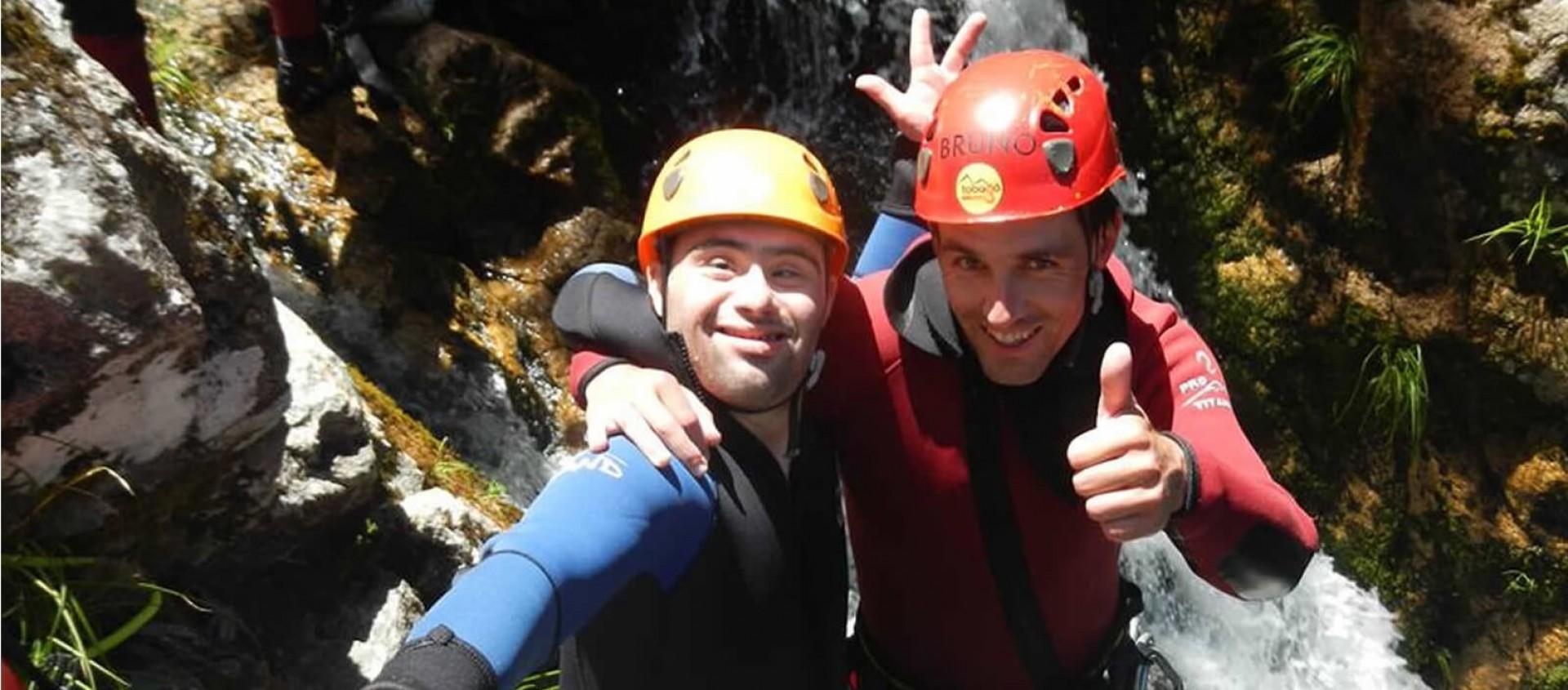 Smiles on Canyoning